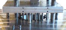 Niederdruckkokille für Aluminiumguss.